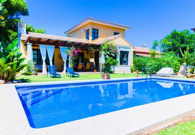 Villa en Javea / Xàbia - Villa Abaesko, Lujosa, Amplia con Jardín y Piscina